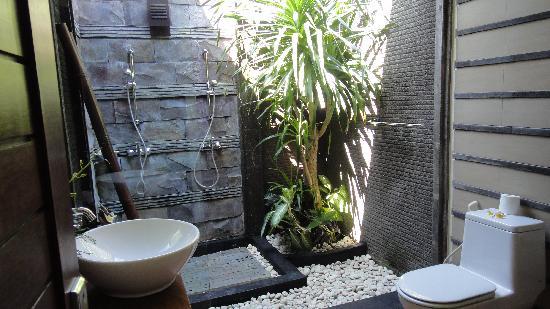 Rumah Santai Villas: la salle de bain