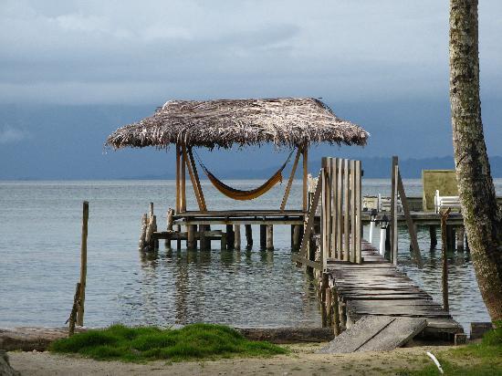 Hotel Tierra Verde: Ponton privé de l'hôtel :)