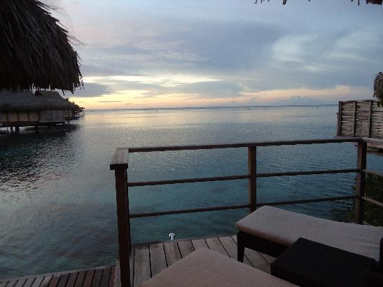 Royal Huahine : In the evening