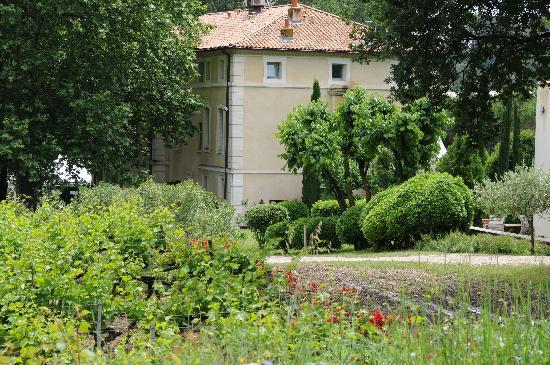 Loriol-du-Comtat, Francia: Wijngaarden, tuin en Talaud