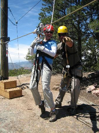 Royal Gorge Zip Line Tours : Clayton, our guide, made the experience so fun