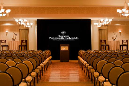 Sheraton Portsmouth Harborside Hotel: Meeting Space
