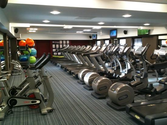 Ewloe, UK: lovely quiet gym