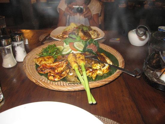 Kecak Bali: Great Seafood Basket