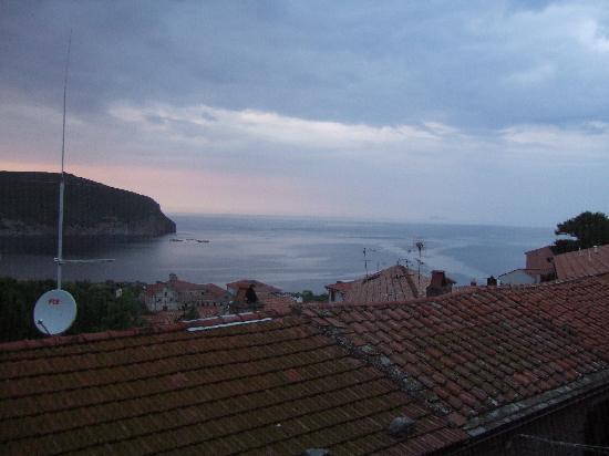 Capraia Isola, Italien: Vista dall' appartamento