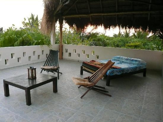 Mahayana Tulum Beach Homes: The rooftop terrace