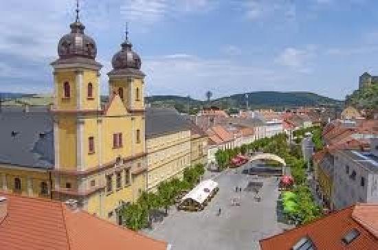 Trencin Region, Eslovaquia: eglise la ou j'ai epouse ma femme