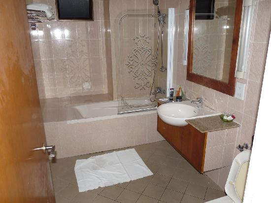 D Anggerek Service Apartment: The Bathroom