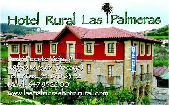 Hotel Rural Las Palmeras Muskiz: hotel rural las palmeras
