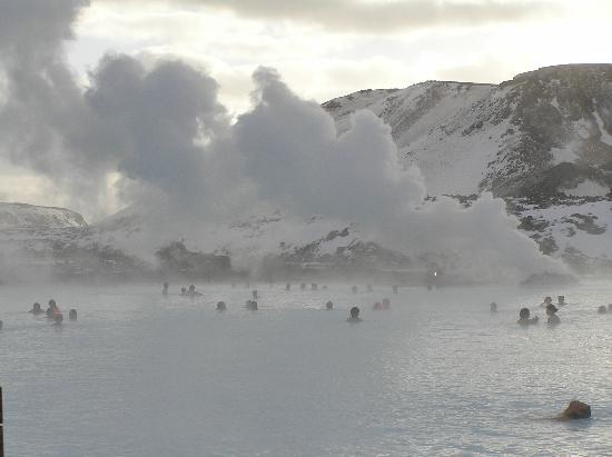 Grindavik, Island: Thermalbad blaue Lagune