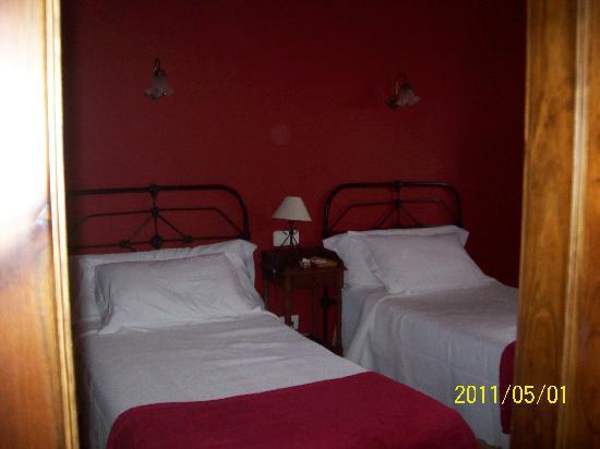 Castillo Valdes Salas: Cuarto donde pasamos la noche