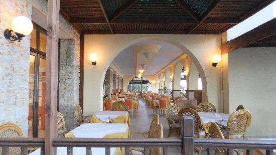 Dimitra Beach Hotel: 1 of the dining rooms