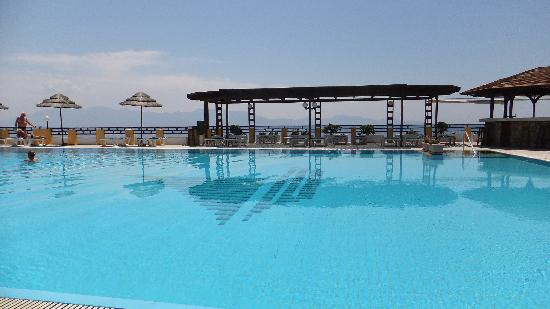 Dimitra Beach Resort Hotel: 1 of 3 pools and amazing view
