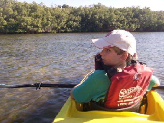 "I Kayak Sarasota: My ""navigator"" on my ikayak trip"