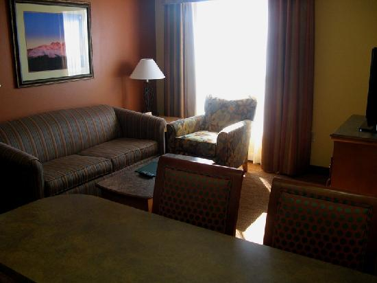 Homewood Suites by Hilton Phoenix-Metro Center: Homewood Suites Living Room