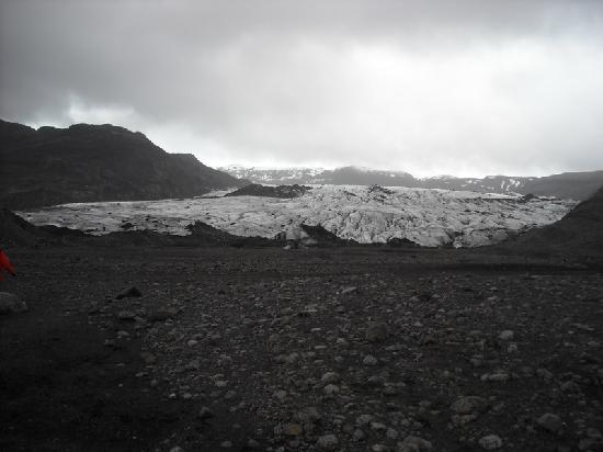 Grindavik, Island: Sooty Glacier