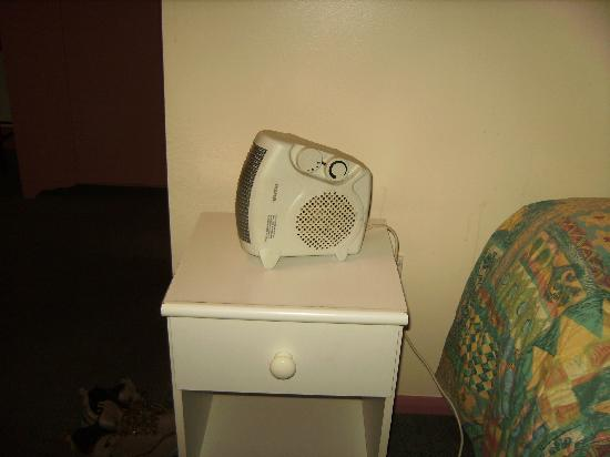 Formby Hotel: The heater in question
