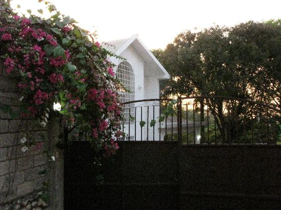 Aux Hibiscus, Bed & Breakfast: entrance