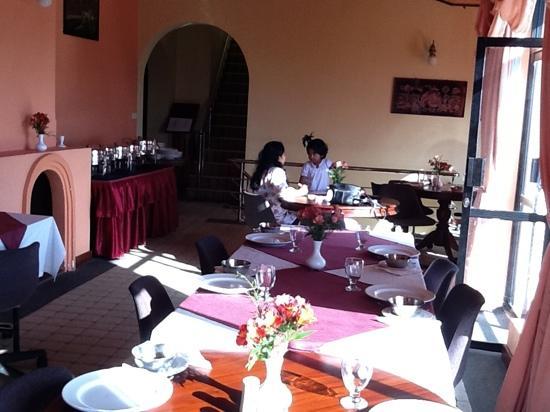 Hotel Tanosa: Dining area