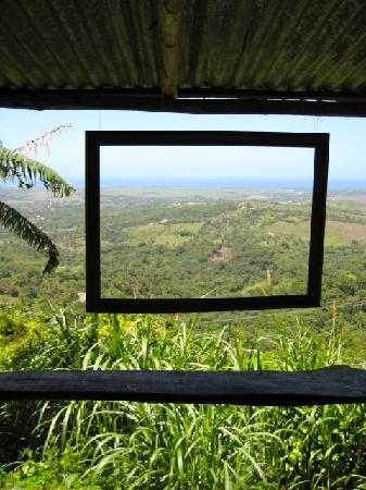 Tubagua Plantation Eco Lodge: the best shower view on earth!