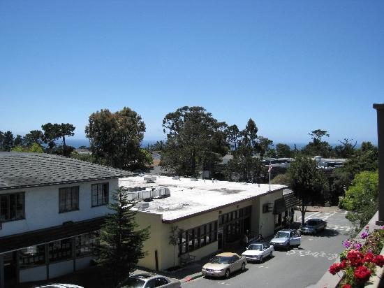 Best Western Carmel's Town House Lodge: View from Sun Deck