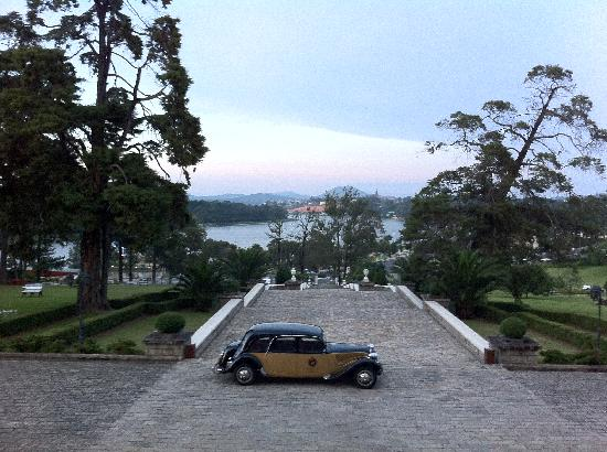 Dalat Palace Heritage Hotel: View from the reception area