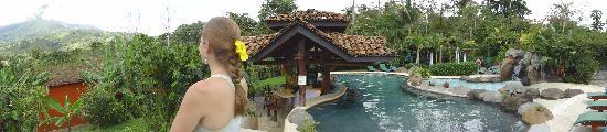 Hotel Mountain Paradise: great pool area