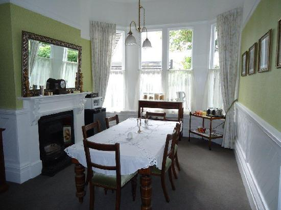 Holly Manor: The Dining Area
