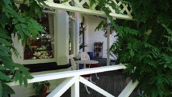 Holly Manor: Verandah Overlooking the Gardens