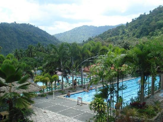 Asin Hot Springs: View from The resto