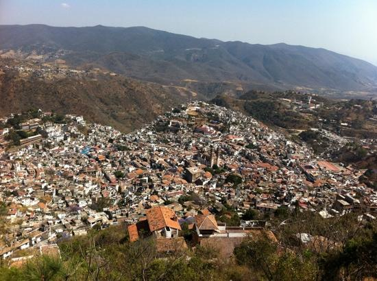 Taxco, Μεξικό: tasco desde el Cristo 1