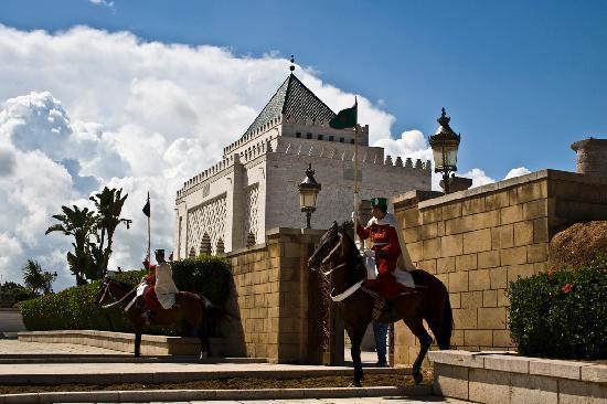 Mausolée de Mohammed V : Das Mausoleum Mohammad V. in Rabat