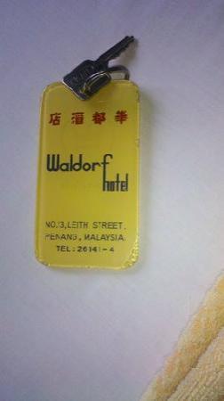 Waldorf Hotel: Key