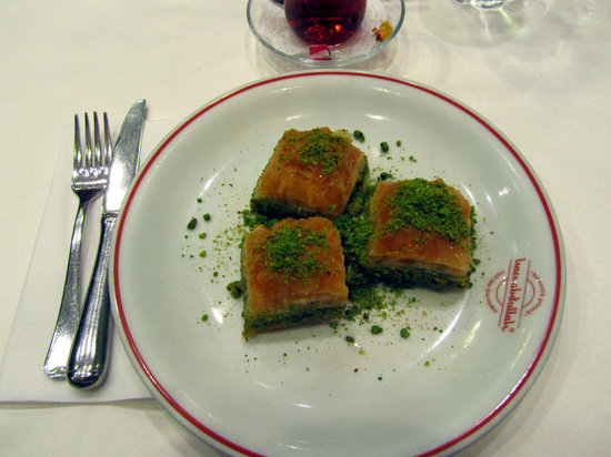 Photo of Turkish Restaurant Haci Abdullah Lokantasi at Aga Camii Yani Sakizagaci Cad. No:17 Beyoglu, Istanbul 34440, Turkey