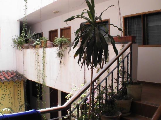 Hotel Plazamar: Unterwegs im Treppenhaus zu den oberen Stockwerken