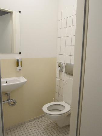 Berliner Hof Hotel: Toilet