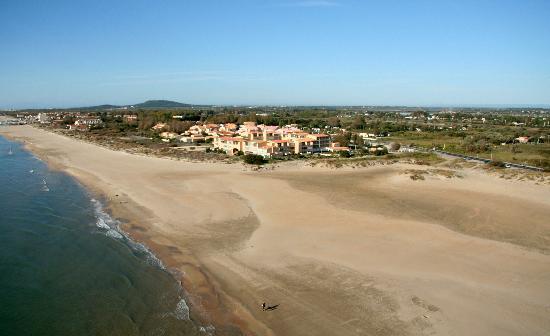 Hotel Les Dunes : hotel sur la plage entre sete et cap d'agde