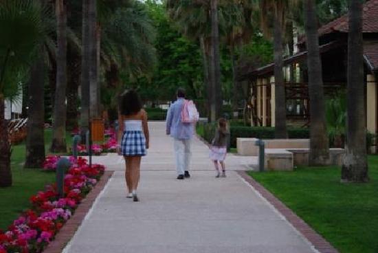 Club Med Palmiye: Apartment gardens