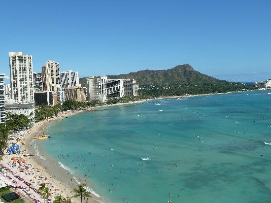 Sheraton Waikiki: View from side Balcony