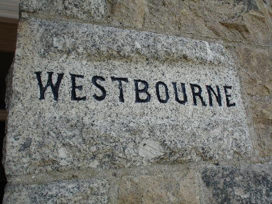 Westbourne Guest House: Cornish granit