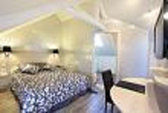 Saint-Meloir-des-Ondes, Francia: Chambre confort