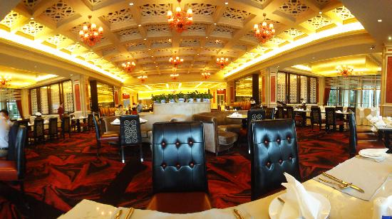 Jinjiang International Hotel: The restaurant / breakfest hall