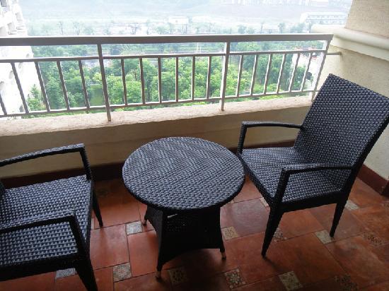 Jinjiang International Hotel: The small Terrace