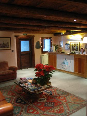 Chalet Faure & SPA: hall-portineria