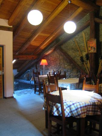 Chalet Faure & SPA : sala colazioni