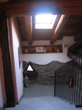 Chalet Faure & SPA : corridoio
