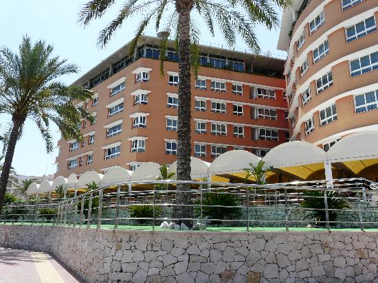Hotel Puerto Juan Montiel, SPA & Base Nautica: VISTA DEL HOTEL