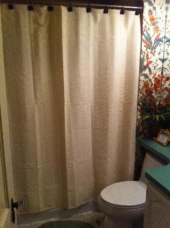 Cedar House: One of Four Bathrooms