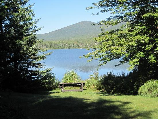 Seyon Lodge: View of Spruce Mountain