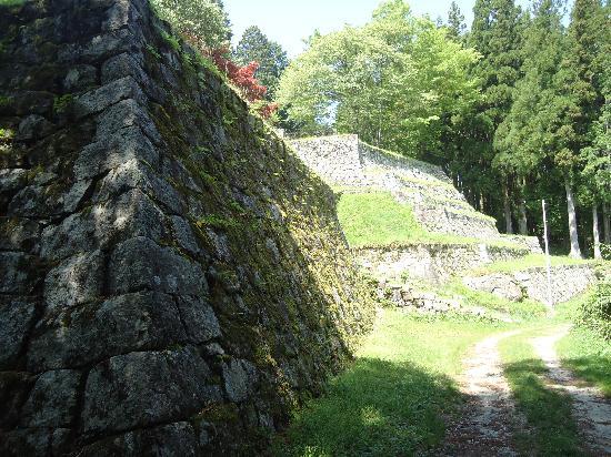 Ena, Japan: 六段状の石垣 1